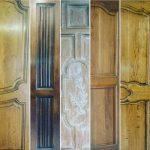 portes entree moulures